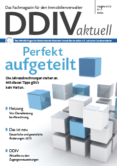 Cover DDIVaktuell 01 2015