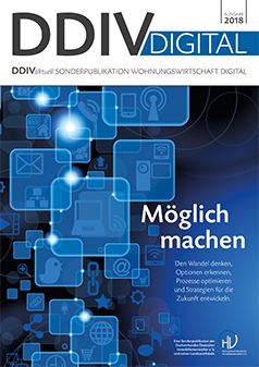 Cover Sonderpublikation DDIV DIGITAL 2018